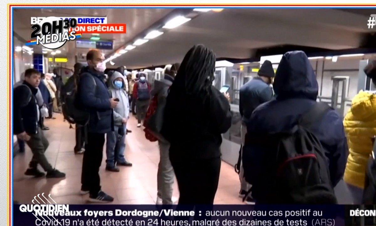 20h30 Médias : récit de l'emballement médiatique autour de la ligne 13 bondée pour le déconfinement