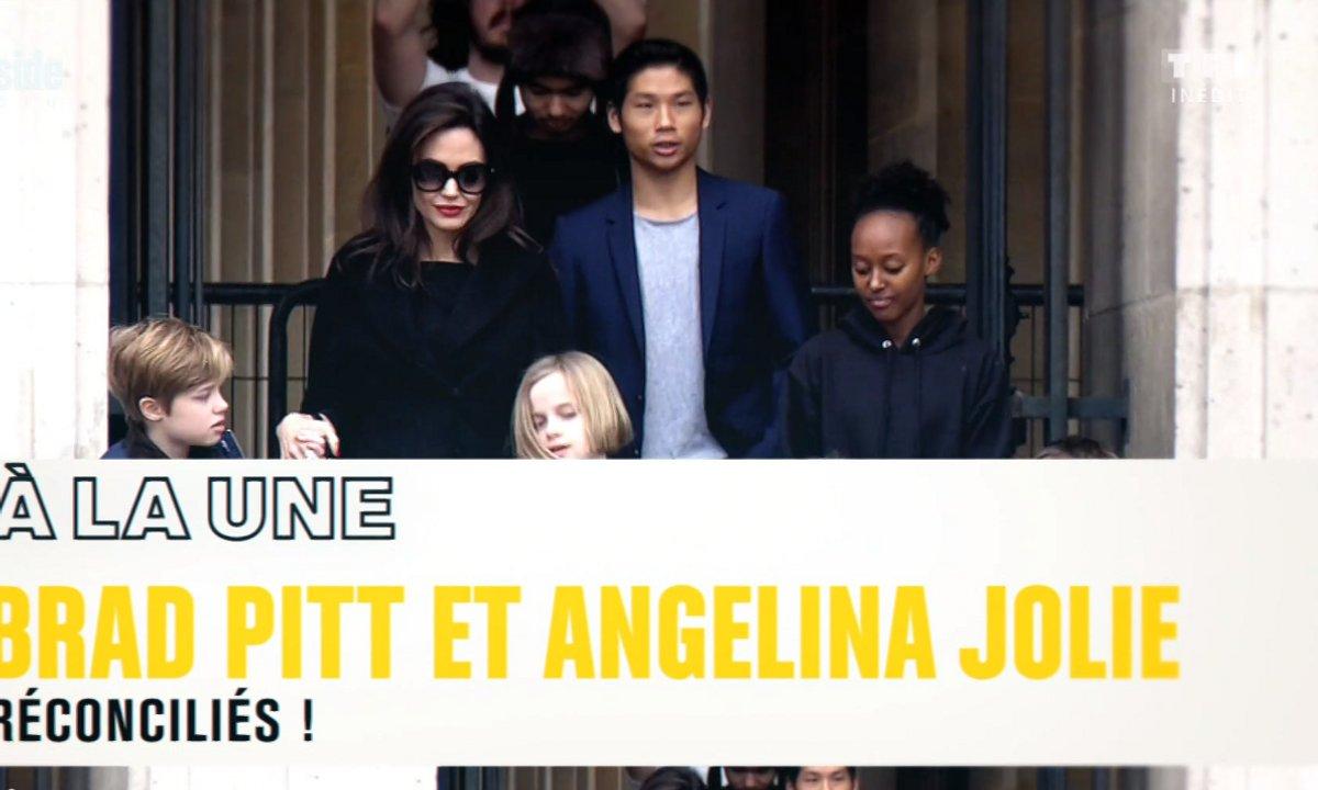 A la Une : Brad Pitt et Angelina Jolie, enfin réconciliés !