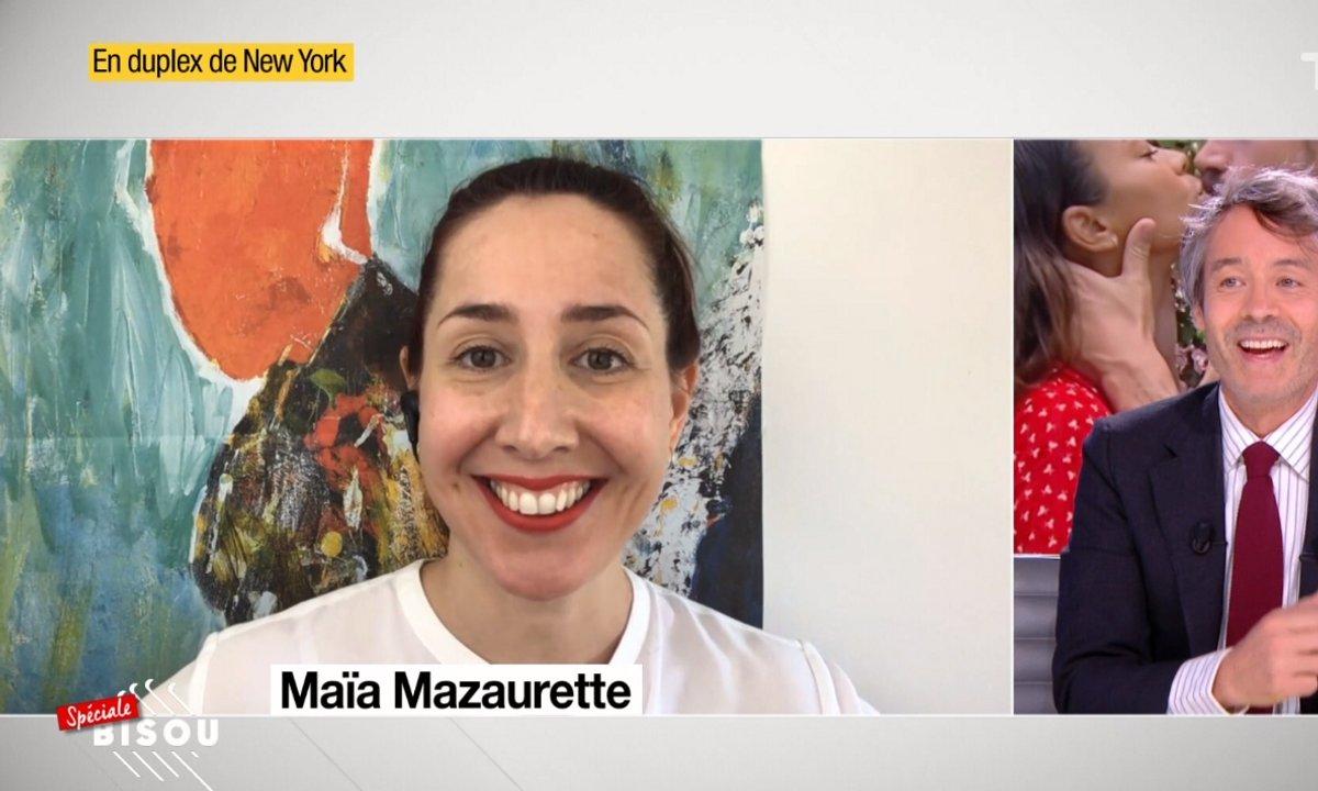 Maïa Mazaurette : qui gagne le match du bisou entre la France et les Etats-Unis ?