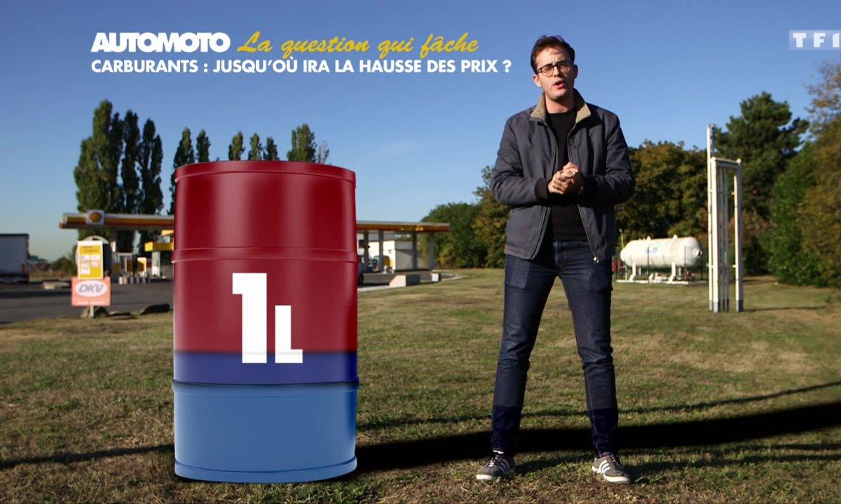 Carburants : Jusqu'où ira la hausse des prix ?