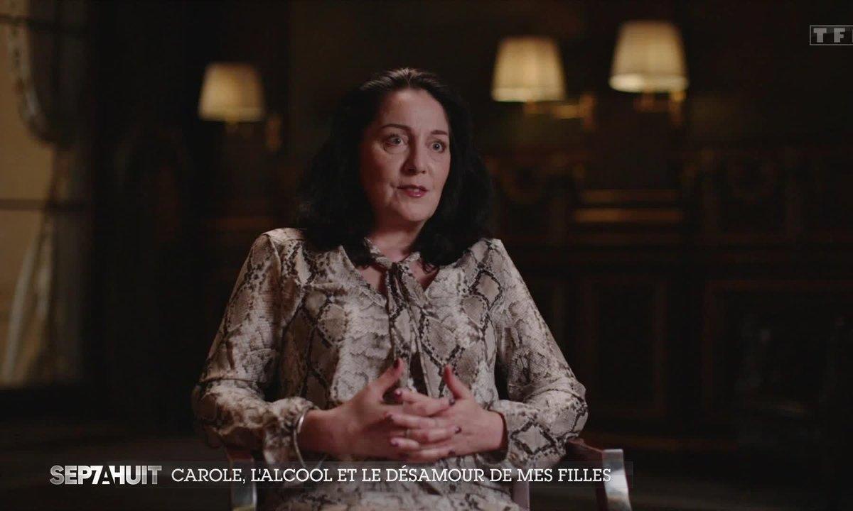 Carole, ancienne alcoolique, raconte sa descente aux enfers et sa guérison