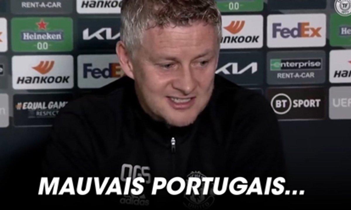 VIDEO - Solskjær pense que Cavani parle... portugais