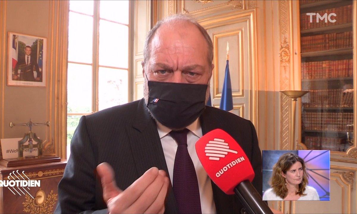 """""""Ce que vous avez fait est d'utilité publique"""": Eric Dupond-Moretti s'adresse à Camille Kouchner"""