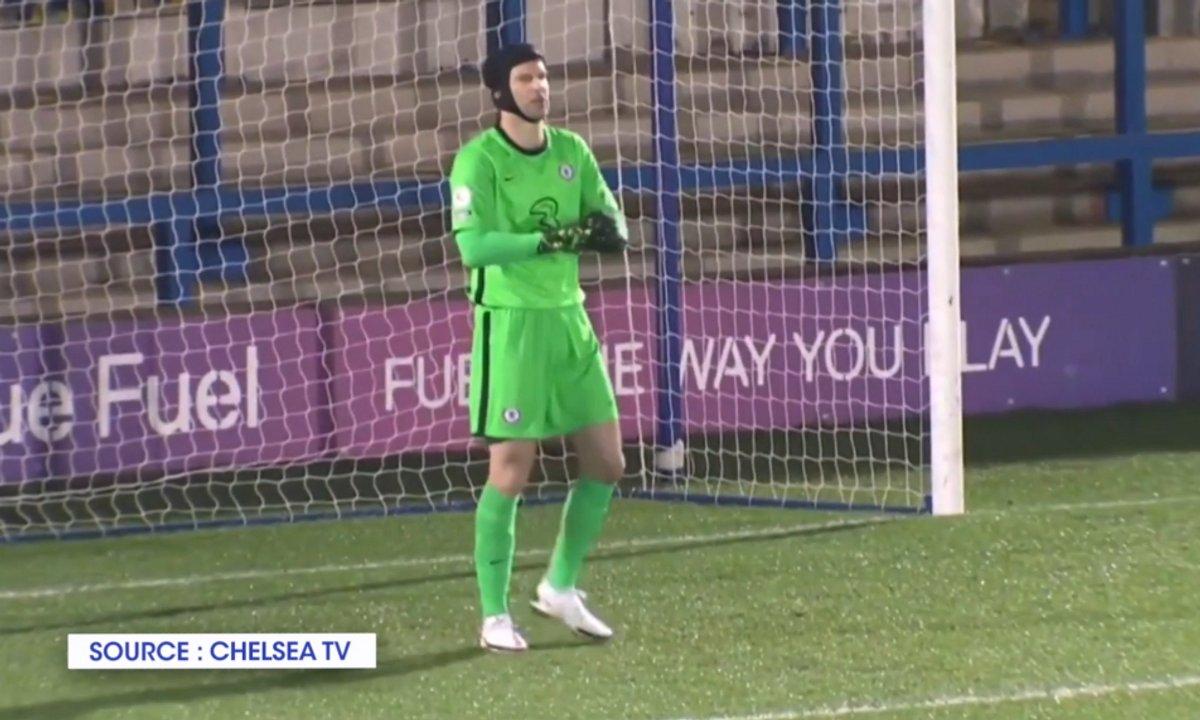 VIDEO - Le grand retour de Petr Cech !