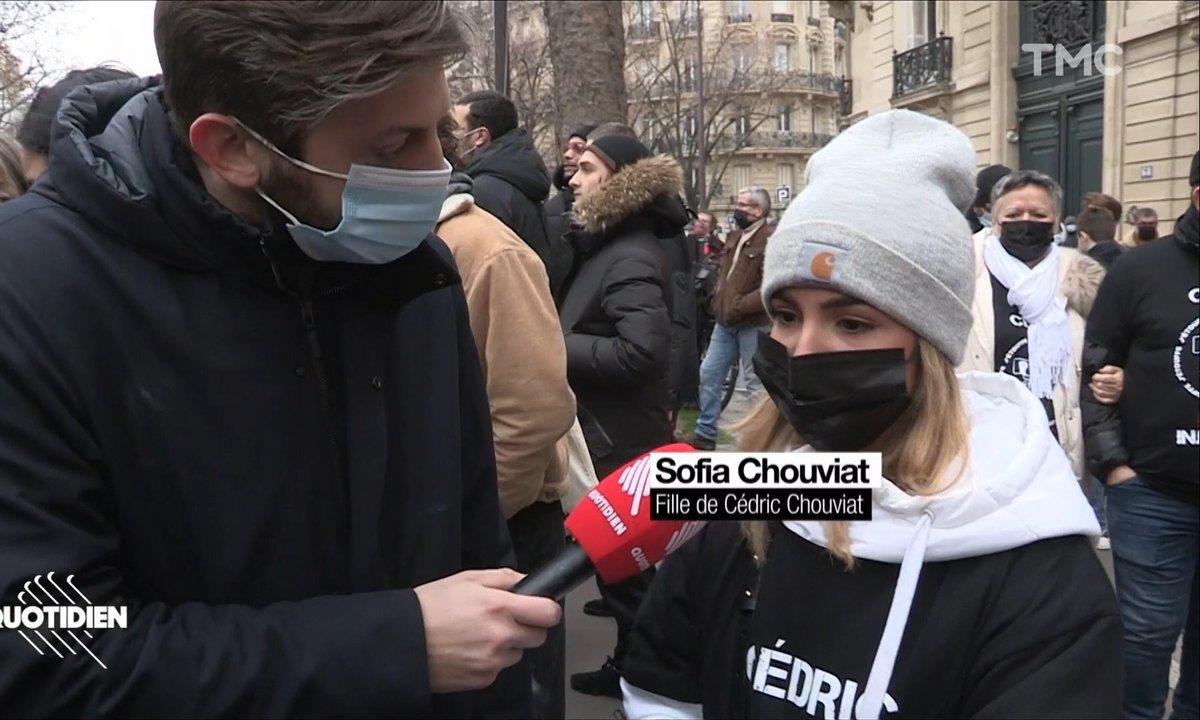 Cédric Chouviat: 1 an après, sa fille Sofia continue le combat pour obtenir justice