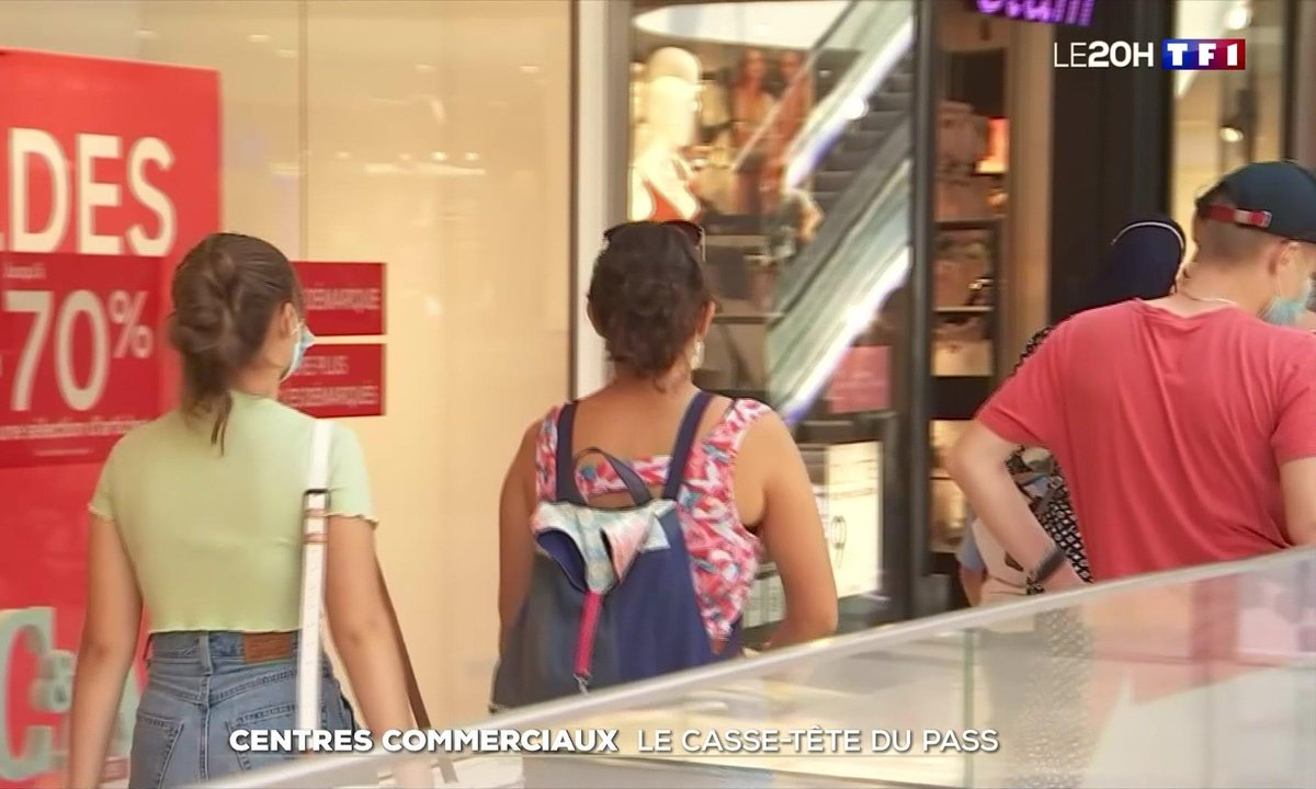 Centres commerciaux : le casse-tête du pass sanitaire