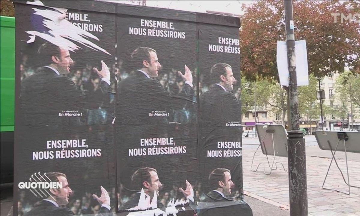 Ces affichages sauvages de tract qui embarrassent LREM