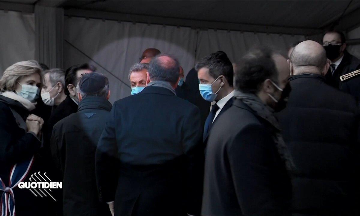 Ces regards qui tuent entre Sarkozy, Hollande, Hidalgo, Pécresse et Darmanin