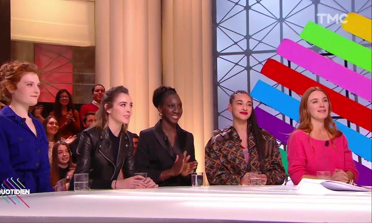 Invitées –  Camélia Jordana, Laetitia Dosch, Eye Haïdara… les espoirs du cinéma français dans Quotidien