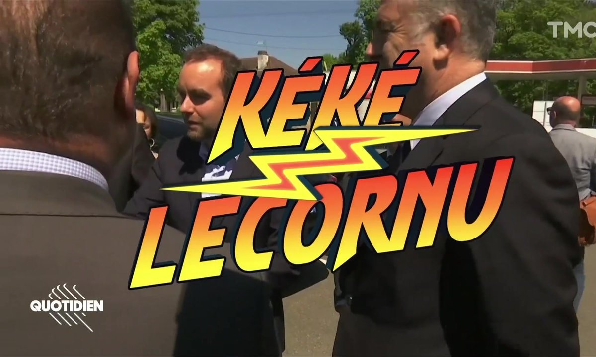 Cet autre tic de Sébastien Kéké Lecornu