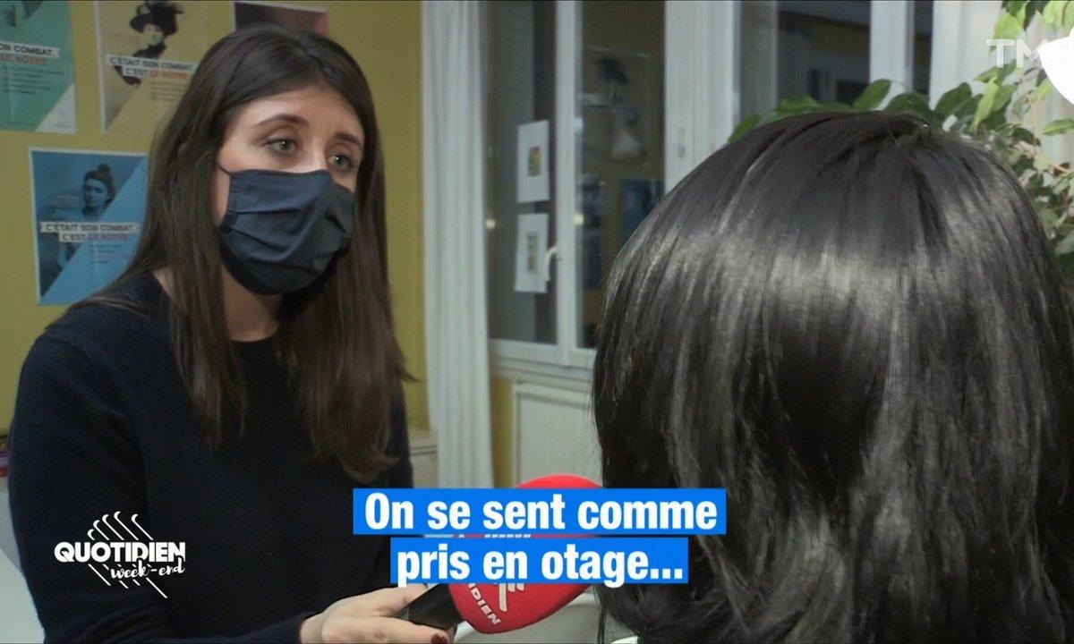 """""""C'était un enfer"""": les violences conjugales ont explosé avec les confinements"""