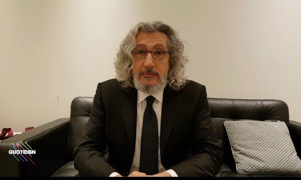 Qoulisses avec Alain Chabat !