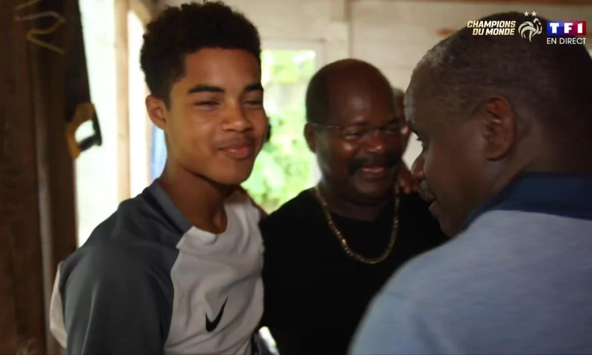 Champions du monde : le sacre vécu chez les parents de Raphael Varane