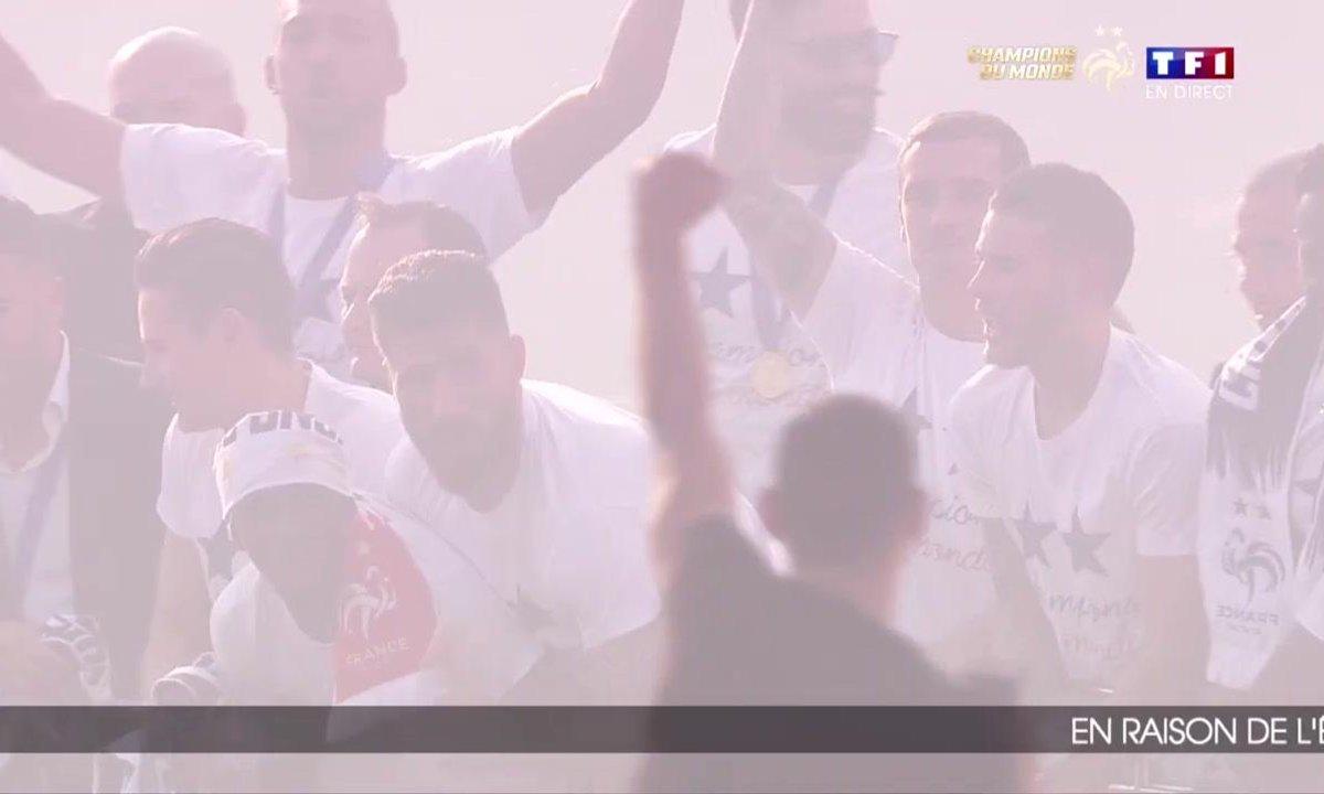 Equipe de France : Revivez le défilé des champions du monde sur les Champs Elysées