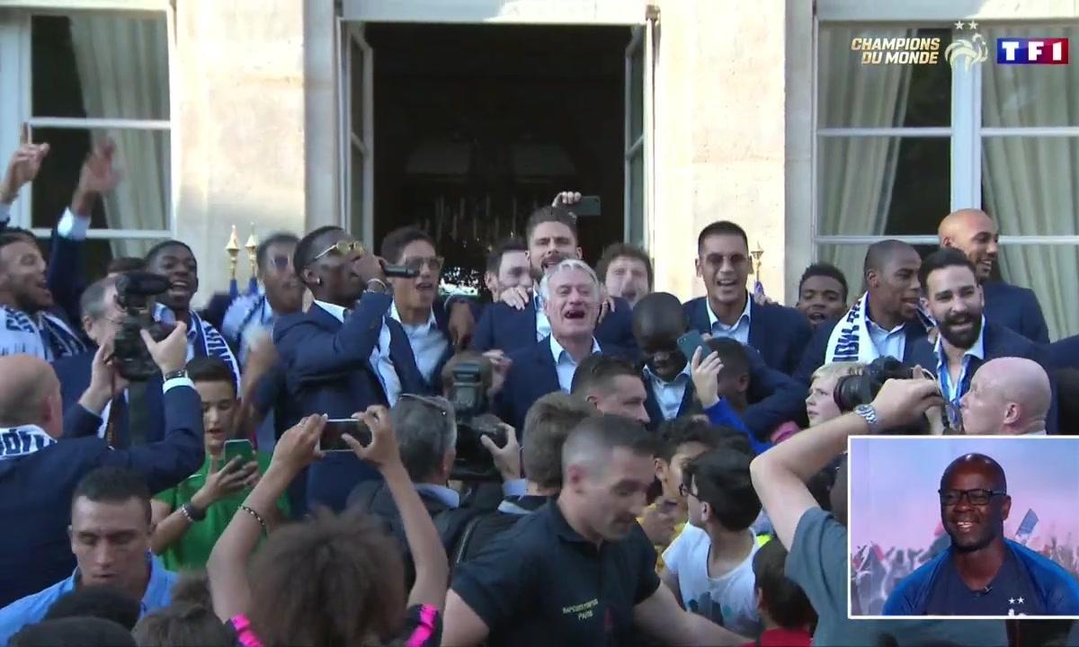 Equipe de France : Le Show Paul Pogba à l'Elysée !