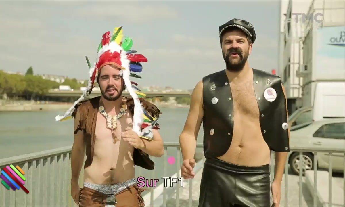 La chanson d'Eric et Quentin : YMCA TF1