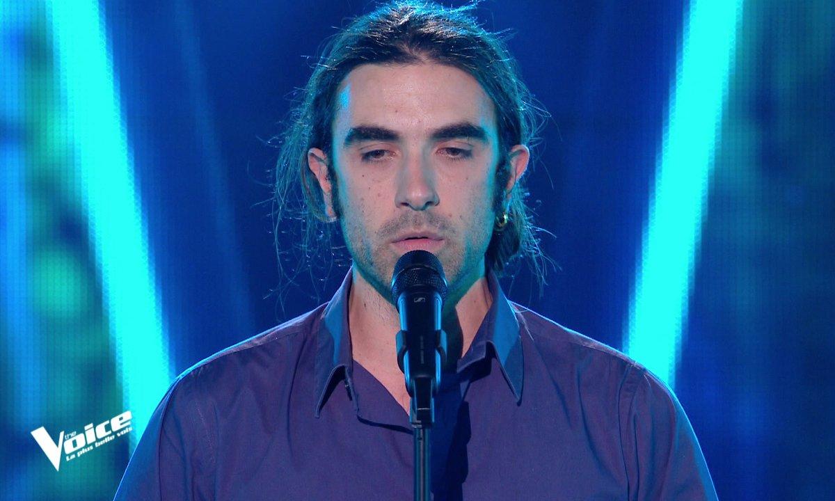 """The Voice 2021 – Vincent Tournoud chante """"Kongurey""""  un chant mongol"""