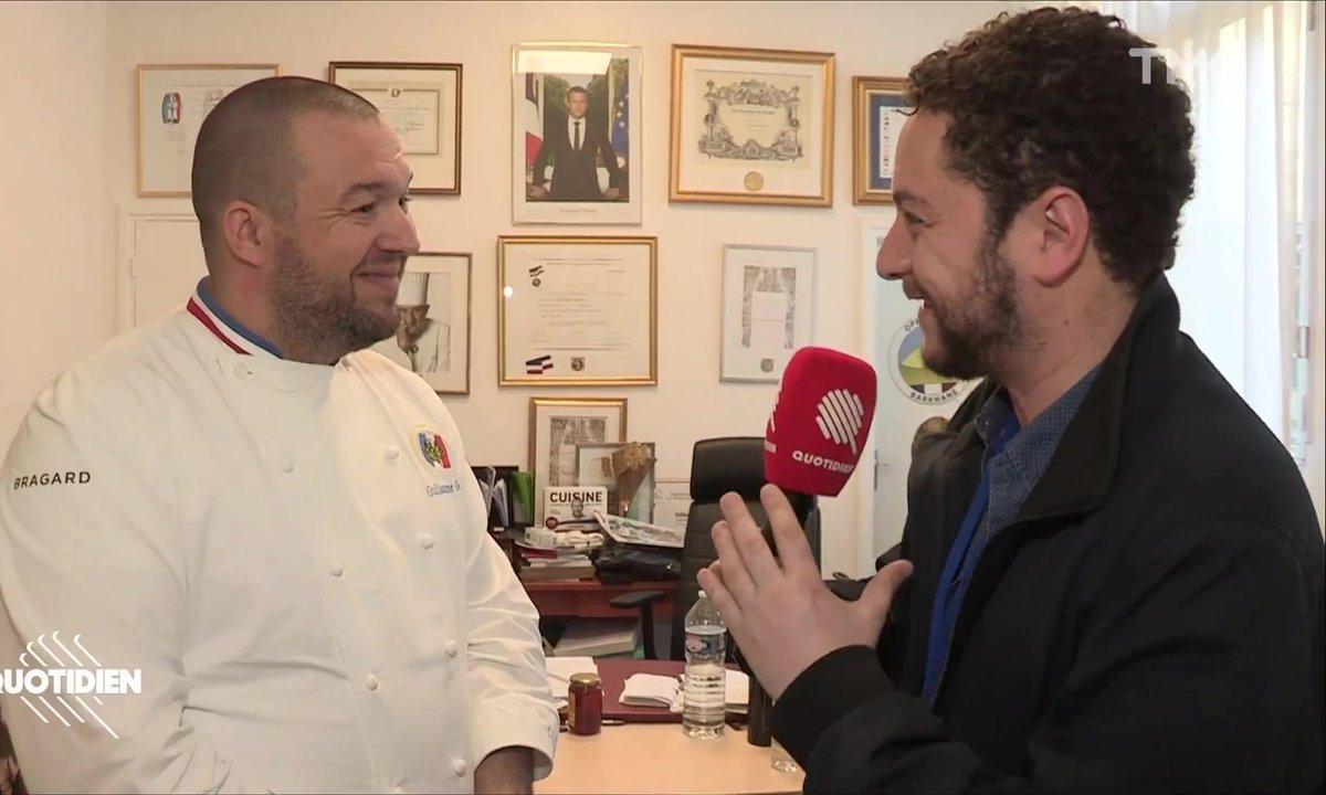 Chaouch Express : à la découverte des cuisines de l'Élysée avec le chef Guillaume Gomez