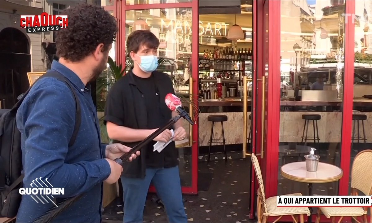 Chaouch Express : à qui appartiennent les trottoirs ?