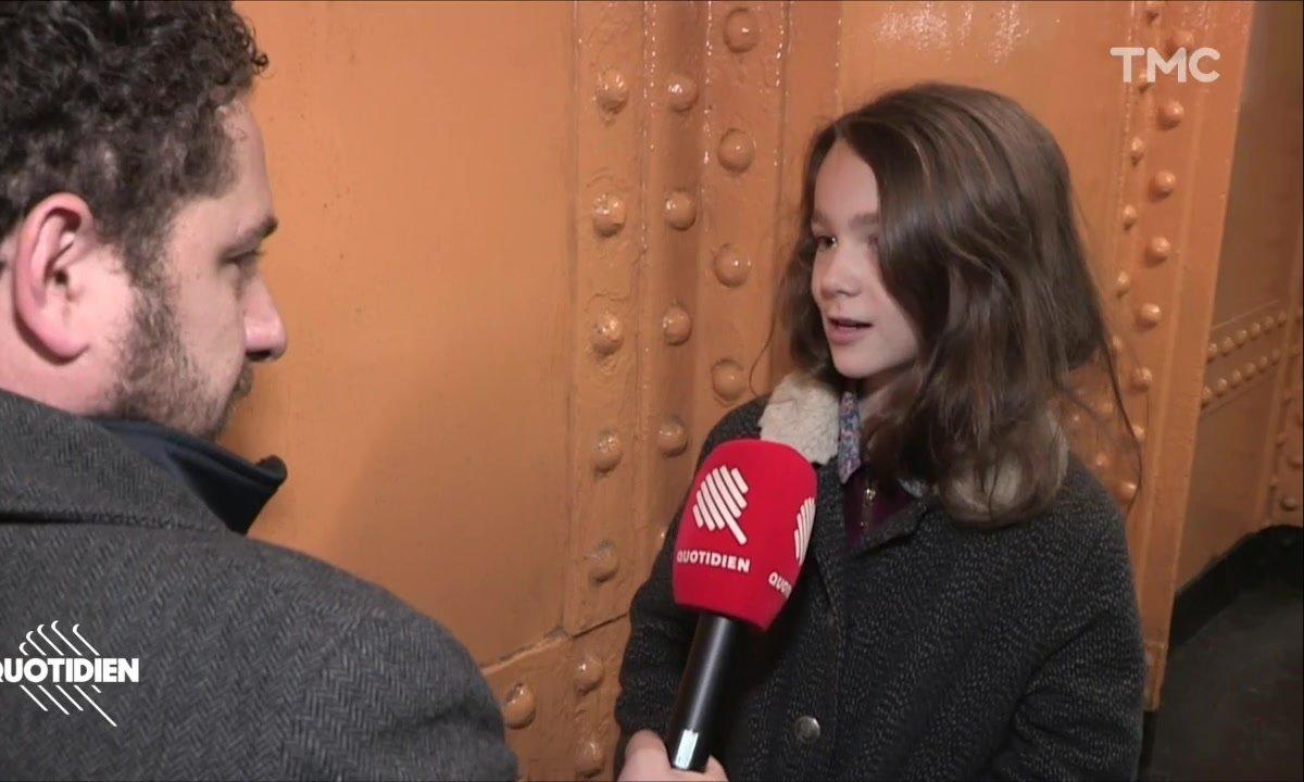 Chaouch Express : Ava, élève en CM1 et nouvelle voix de la RATP