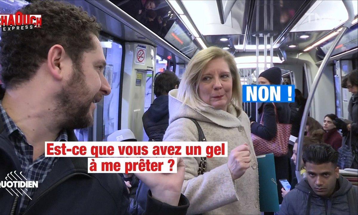 Chaouch Express – Coronavirus et transports en commun : Paris prend-t-elle assez de précautions ?