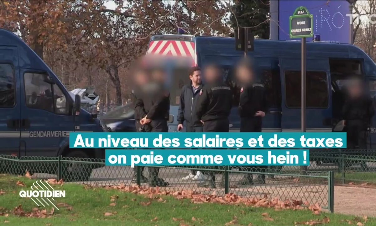 Chaouch Express : peut-on être policier et gilet jaune ?