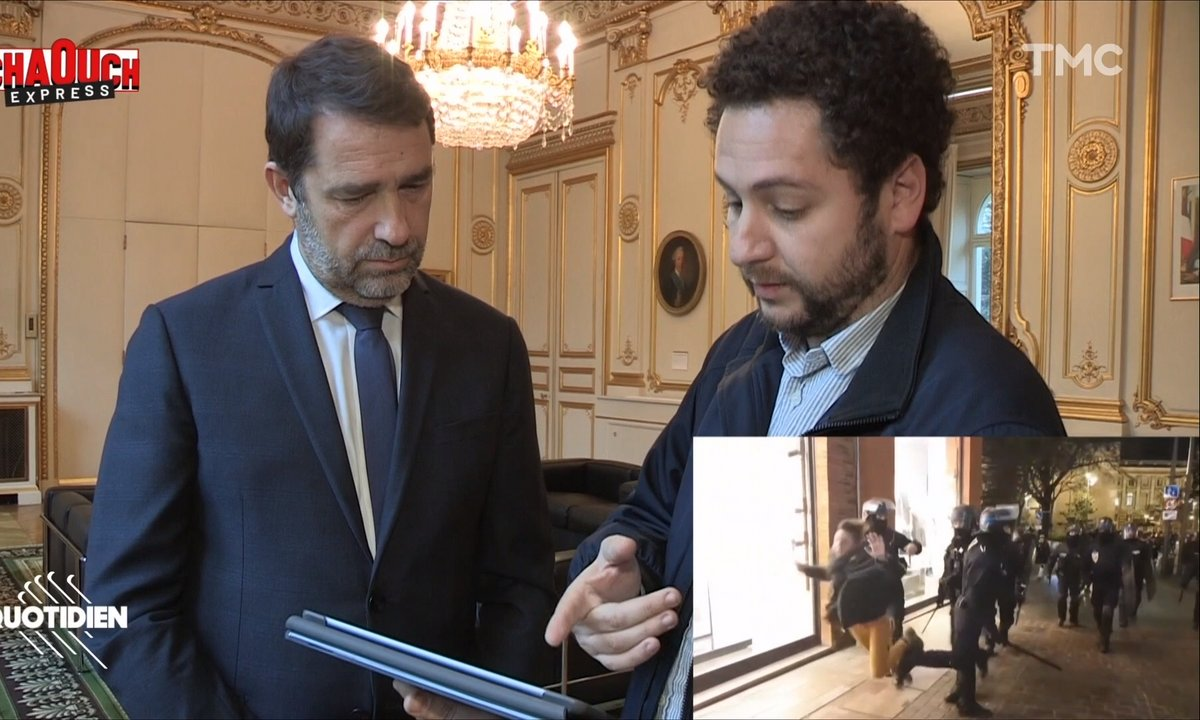 Chaouch Express : on interroge Christophe Castaner sur les violences policières