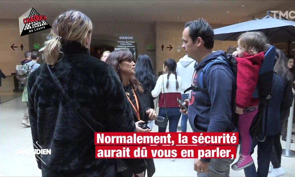Chaouch Express : comment protéger les œuvres du Louvre ?