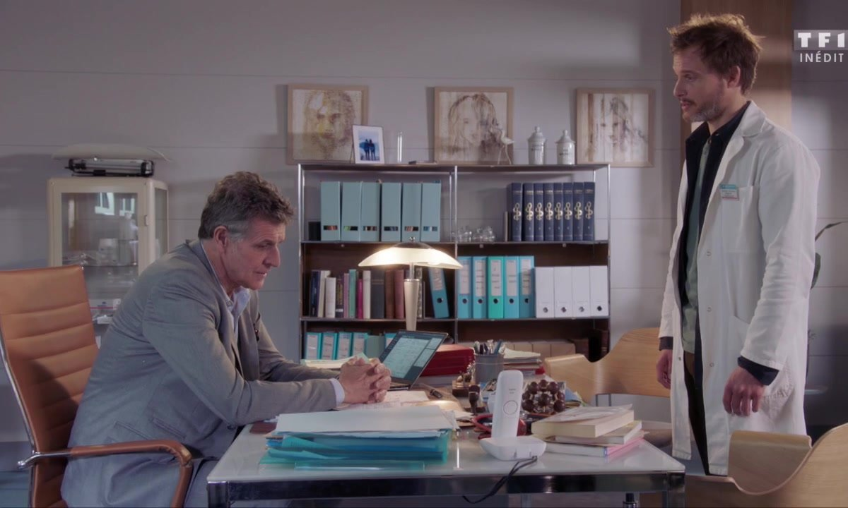 Chardeau suspendu de ses fonctions à l'hôpital (épisode 228)