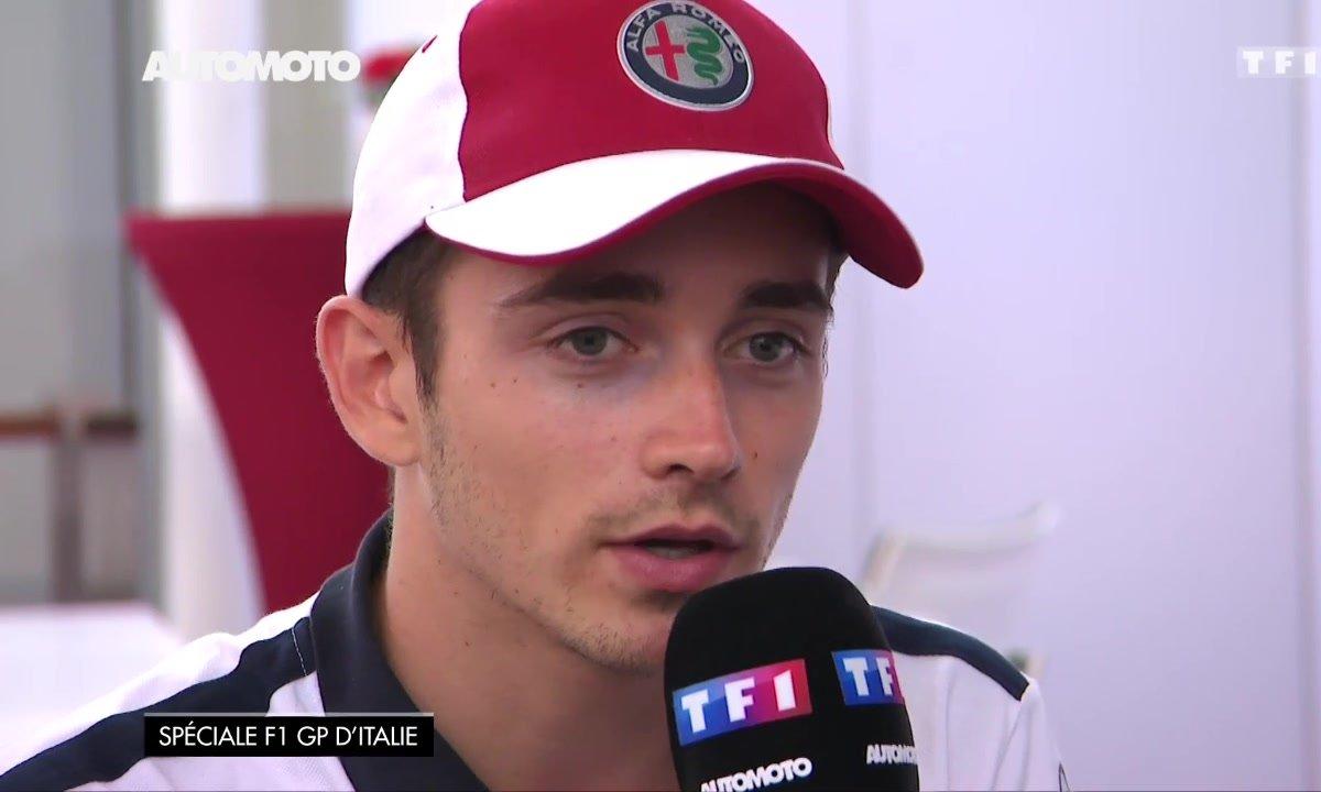 F1 - GP d'Italie : Interview de Charles Leclerc