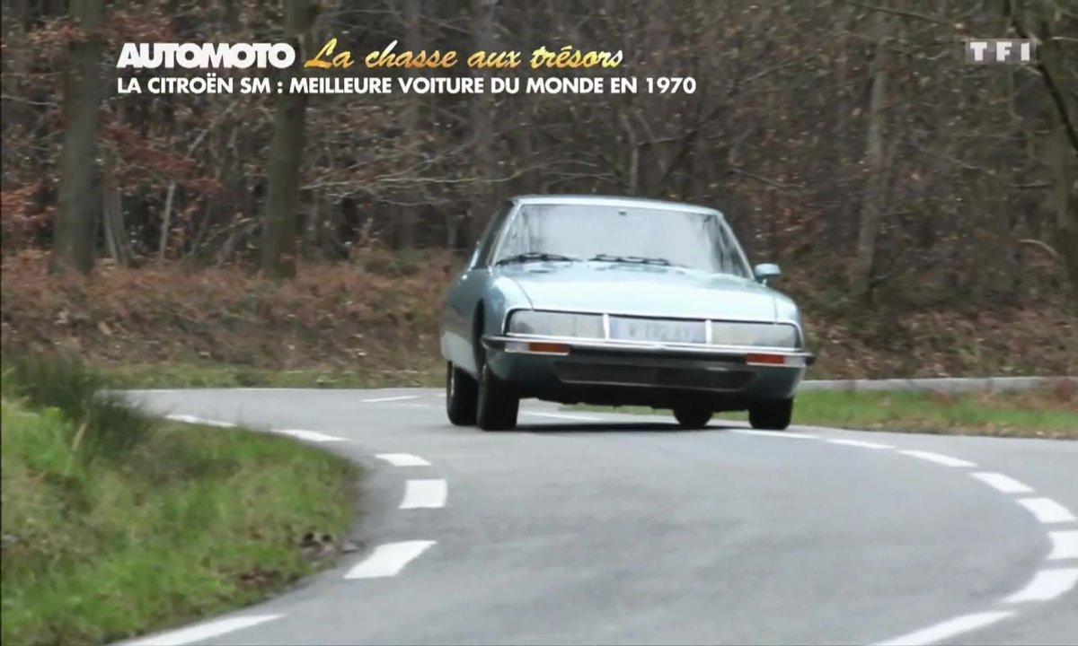 La Chasse au Trésor : la Citroën SM