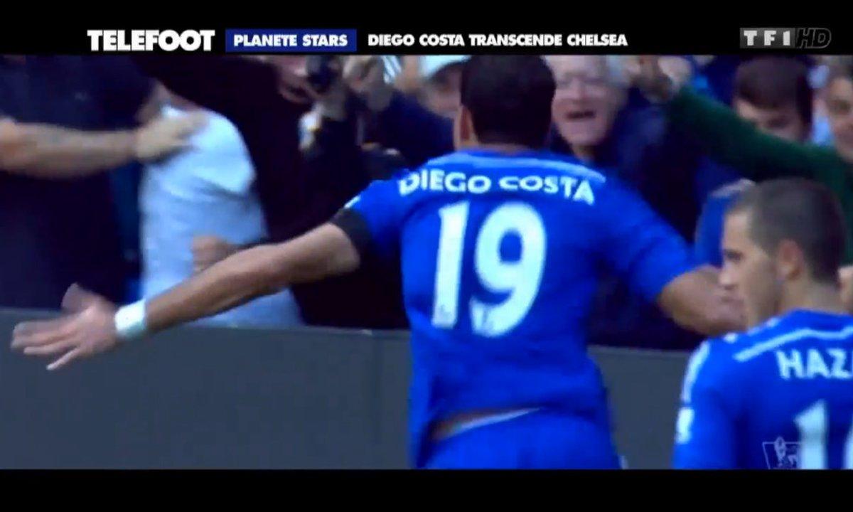 Planète stars - Chelsea et le festival Diego Costa !