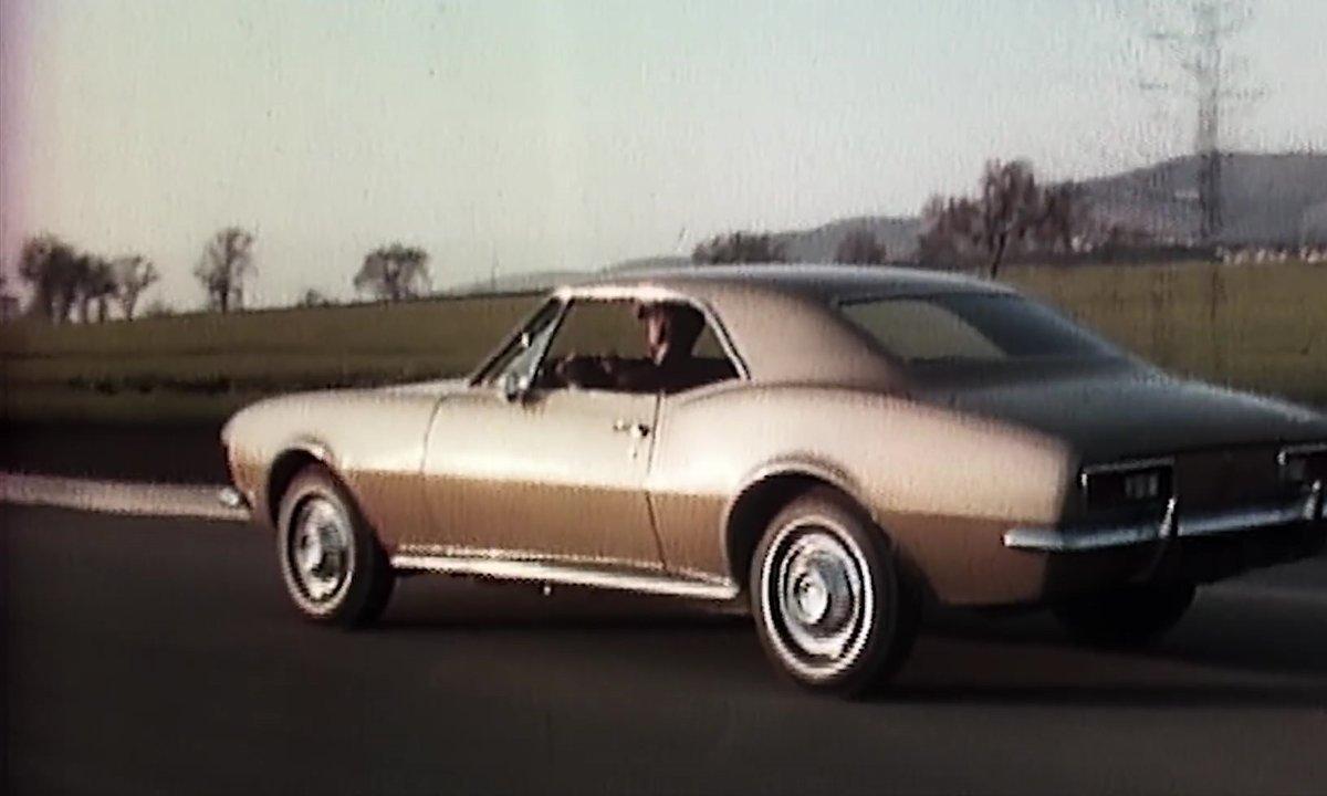 La Chevrolet Camaro fête ses 50 ans