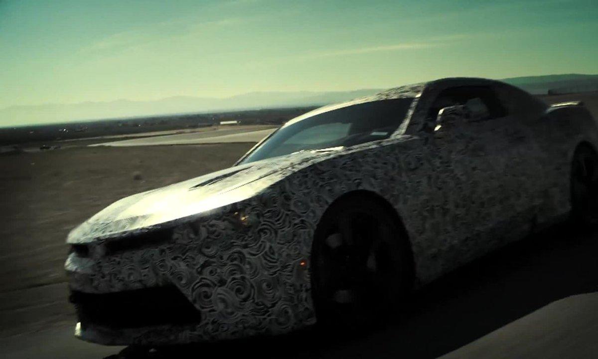 La Future Chevrolet Camaro 2016 préfigurée