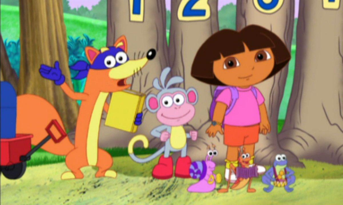 Dora l'exploratrice - Chipeur va dormir chez sa grand-mère - Extrait