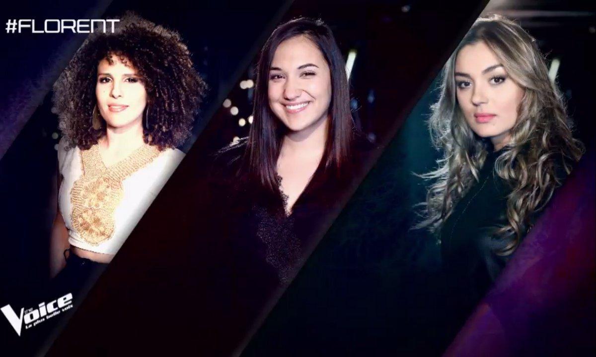 Le choix du coach : Meryem, Thana-Marie et Yasmine Ammari (Equipe Florent Pagny)