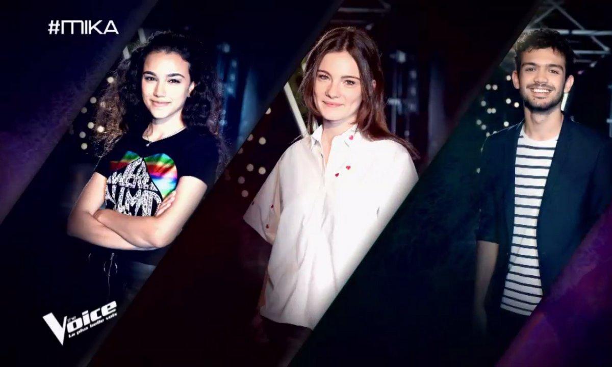 Le choix du coach : Capucine, Lilya et Alhan (Equipe Mika)