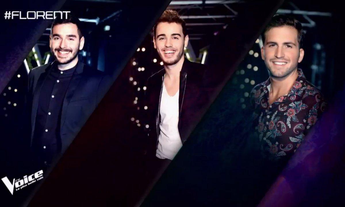 Le choix du coach : Gabriel, Abdel et Abel Marta (Equipe Florent Pagny)