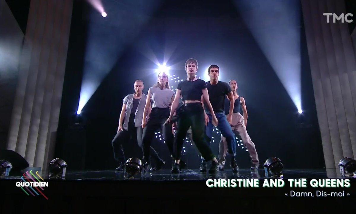 """Christine and the Queens : """"Damn, dis-moi"""" en live pour Quotidien"""
