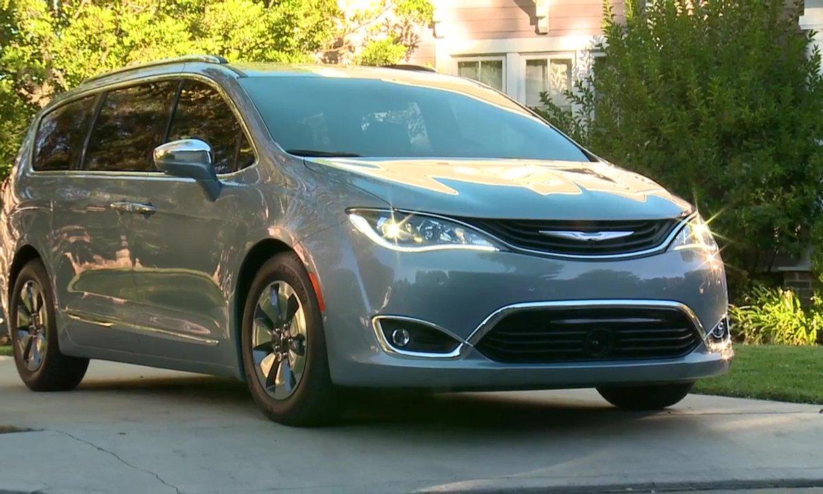 Chrysler Pacifica 2016 : présentation officielle