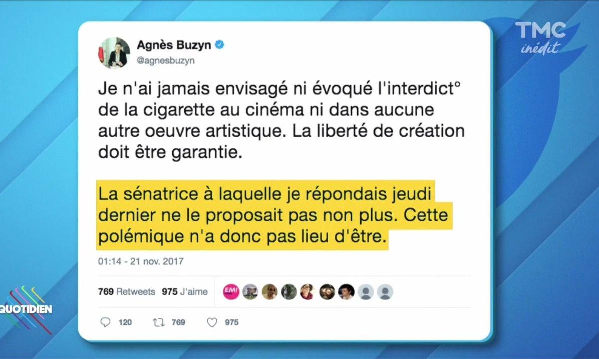 Cigarette / Suite : le drôle de tweet de la Ministre de la santé