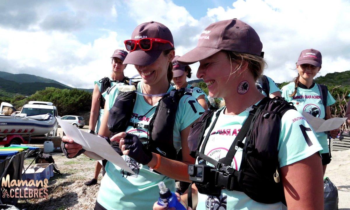 Cindy se dépasse au Corsica Raid Femina