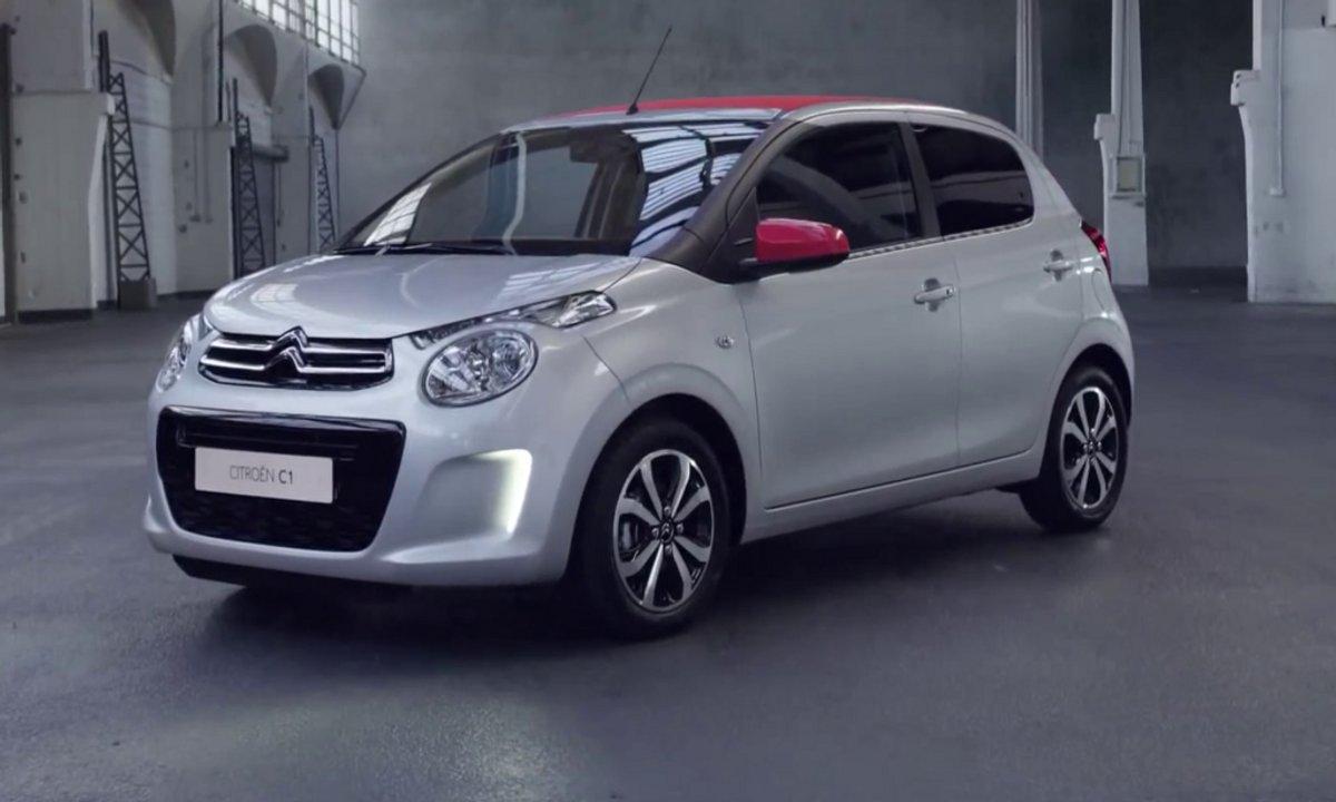 Citroën C1 2014 : présentation officielle