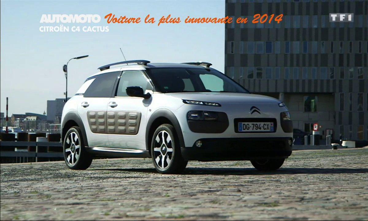 La Voiture la Plus Innovante de l'Année 2014 est la Citroën C4 Cactus