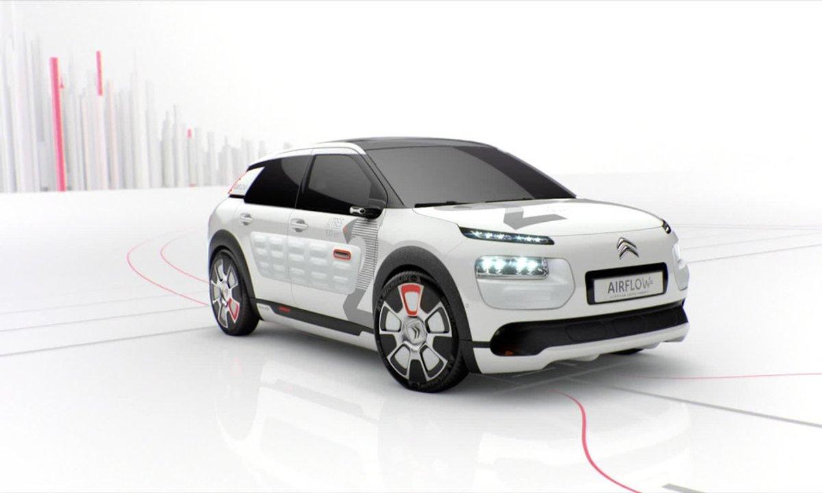 Citroën C4 Cactus Airflow 2L Concept : présentation officielle