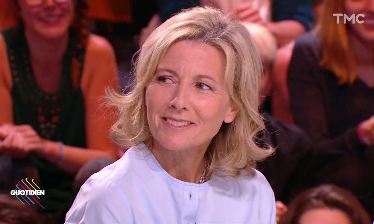 Claire Chazal, future ministre de la Culture de Macron ? Elle répond