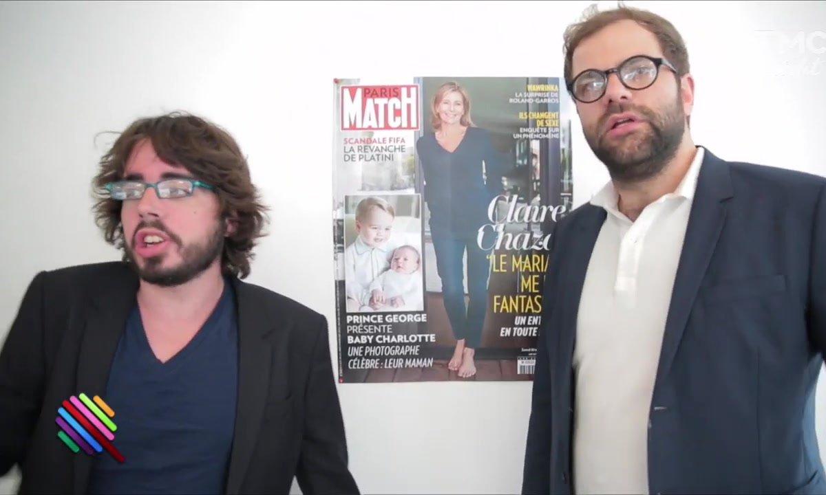 Claire Chazal dans Paris-Match : un beau boulot de journaliste