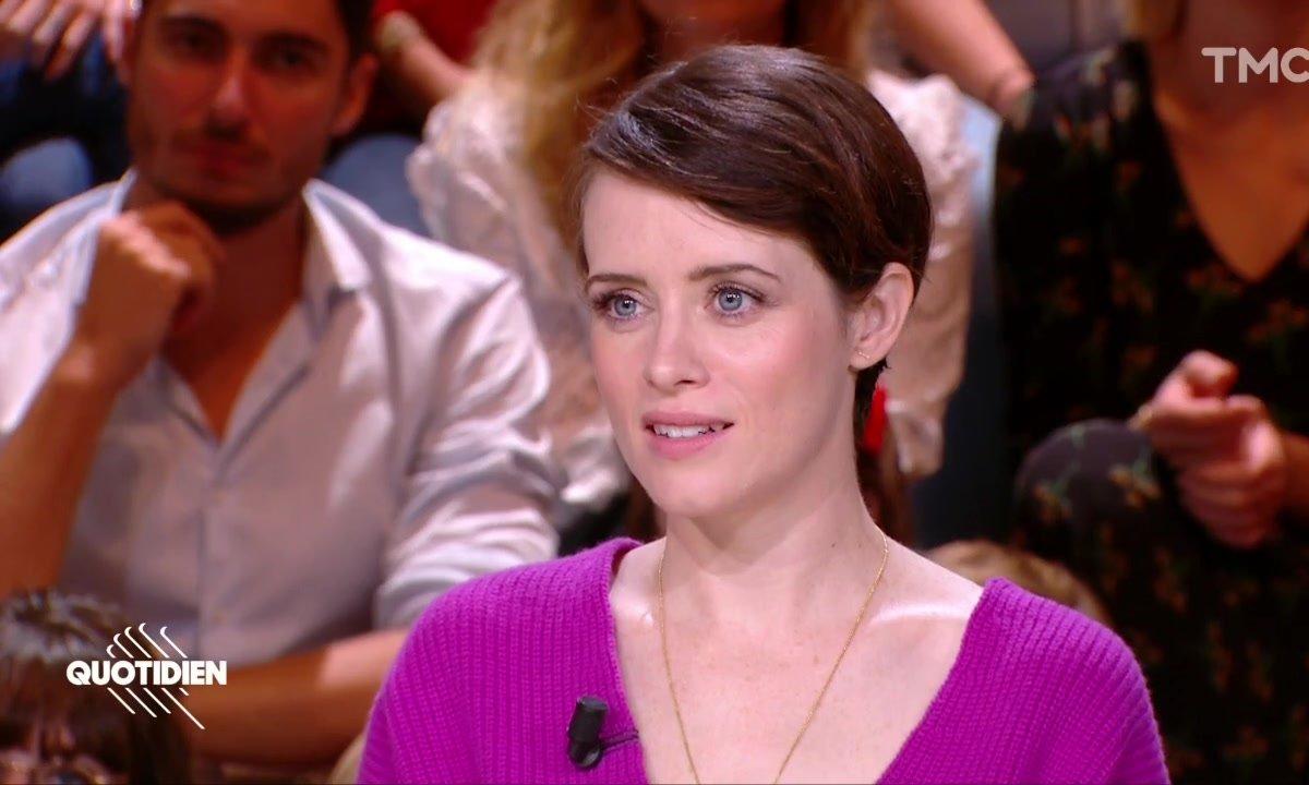 Claire Foy : son actrice française préférée ? Isabelle Huppert, sans aucun doute