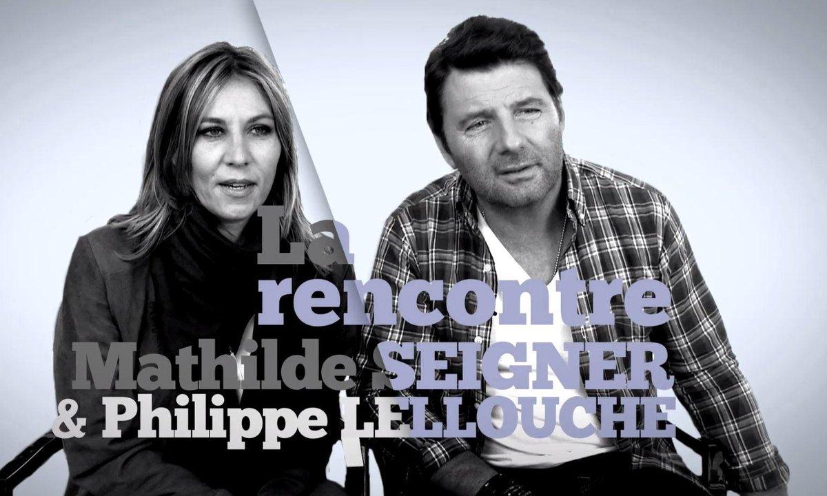 Clap rencontre Mathilde Seigner et Philippe Lellouche !