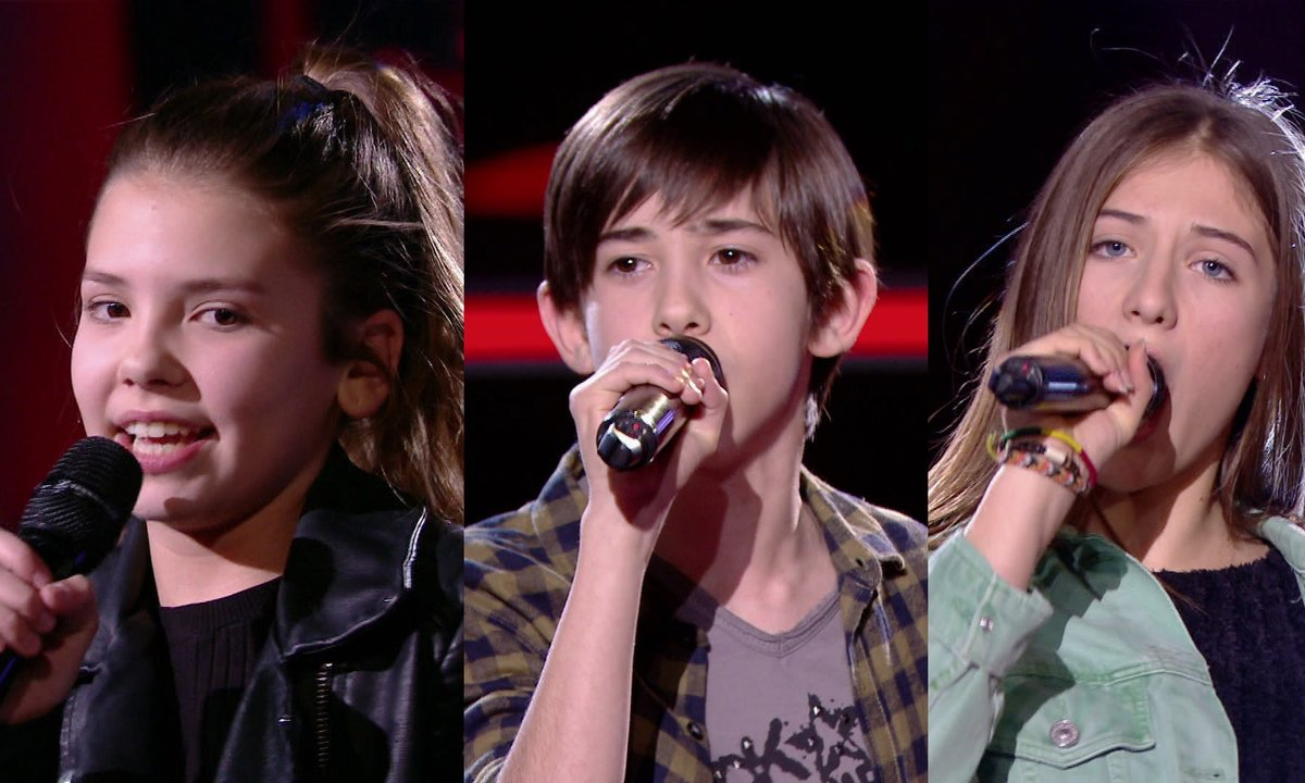 Clara VS Michel VS Mila chantent « Walk this way » d'Aerosmith (Team Patrick Fiori)